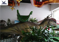 Game Center Animatronic Large Dinosaur Ride On Toy Moving Coin Operated Ride On Car